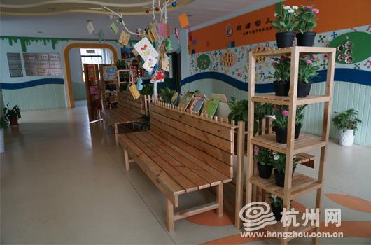 双浦有了自己的幼儿园图书馆